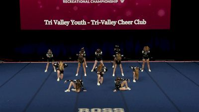 Tri Valley Youth - Tri-Valley Cheer Club [2021 L1 Performance Rec - 12Y (NON) - Small Finals] 2021 The Quest