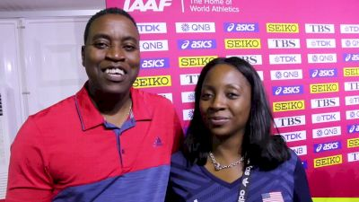 Grant Holloway's Parents Discuss His Path To The Gold