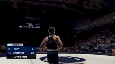 184lbs Match: Creighton Edsell, Penn State vs Andrew Buckley, Navy