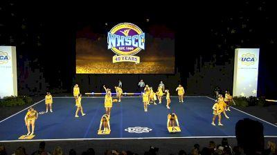 St Huberts Catholic High School [2020 Junior Varsity Non Tumbling Finals] 2020 UCA National High School Cheerleading Championship