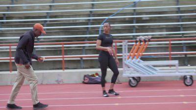 Coach Flo Reinforces 'Pulling The Knee' In Camacho-Quinn's Trail Leg