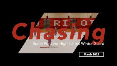 South Portland High School Winter Guard - Chasing