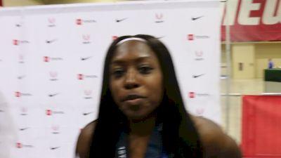 Mikiah Brisco Wins U.S. 60m In 7.04