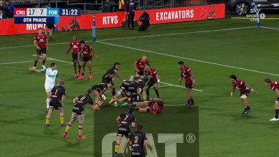 Ollie Callan with a Try vs Crusaders