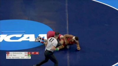 157 final, David Carr, ISU vs Jesse Dellavecchia, Rider