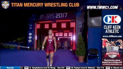 58 kg Gold, Helen Maroulis, USA vs Marwa Amri, TUN