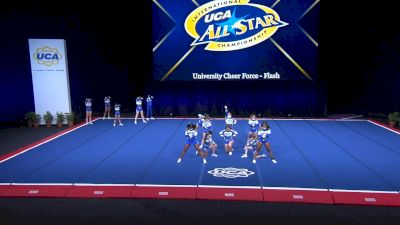 University Cheer Force - Flash [2021 L2 Youth - Small Day 2] 2021 UCA International All Star Championship