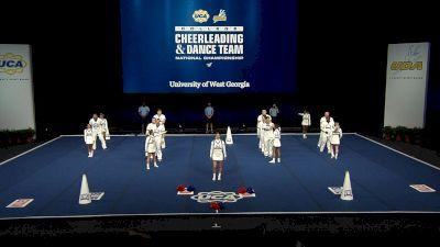University of West Georgia [2021 Cheer Division I Finals] 2021 UCA & UDA College Cheerleading & Dance Team National Championship