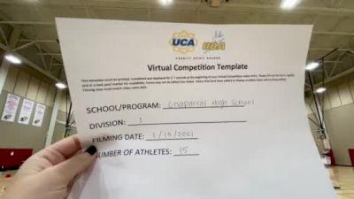 Chaparral High School [Small Junior Varsity] 2021 UCA January Virtual Challenge