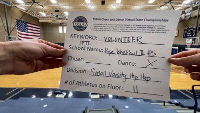 Pope John Paul II High School [Small Varsity - Hip Hop] 2021 TSSAA Cheer & Dance Virtual State Championships