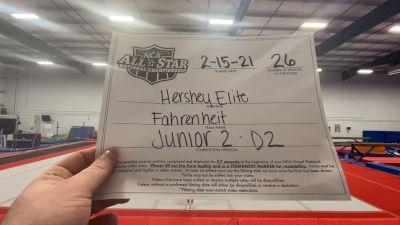 Hershey Elite - Fahrenheit [L2 Junior - D2 - Medium] 2021 NCA All-Star Virtual National Championship