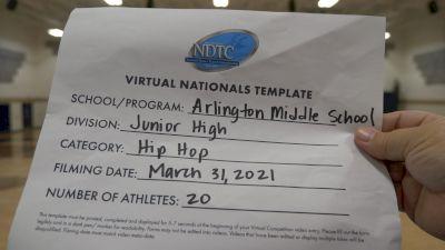Arlington Middle School [Virtual Junior High - Hip Hop Semi Finals] 2021 UDA National Dance Team Championship