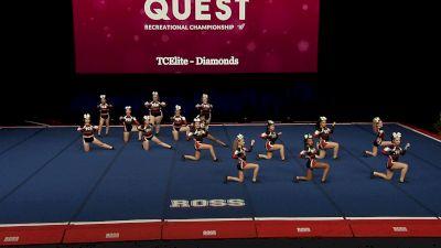 TCElite - Diamonds [2021 L3.1 Performance Rec - 18Y (NON) - Small Finals] 2021 The Quest