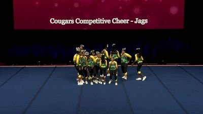 Cougars Competitive Cheer - Jags [2021 L2 Performance Rec - 14Y (NON) - Small Finals] 2021 The Quest