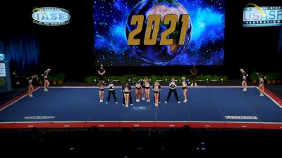 Planet Spirit - Blackout [2021 L6 Senior Open Small Coed Semis] 2021 The Cheerleading Worlds