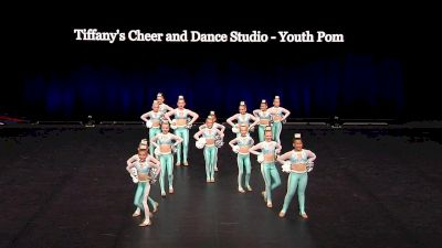 Tiffany's Cheer and Dance Studio - Youth Pom [2021 Youth Pom - Small Semis] 2021 The Dance Summit