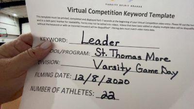 St Thomas More Catholic School [Game Day Varsity] 2020 UCA Louisiana Virtual Regional