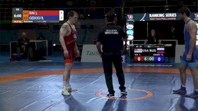 87 kg Josef Patrick RAU, USA vs - Bekkhan OZDOEV, RUS