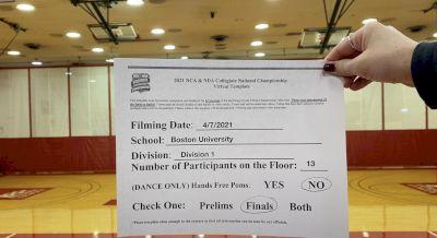 Boston University [Hip Hop Division I Virtual Finals] 2021 NCA & NDA Collegiate Cheer & Dance Championship