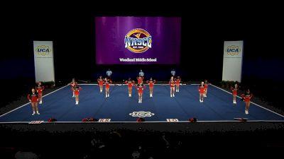 Woodland Middle School [2021 Small Junior High Finals] 2021 UCA National High School Cheerleading Championship