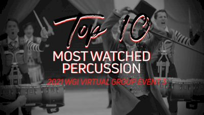 Top 10: Most Watched Percussion - WGI Virtual Group Event 3