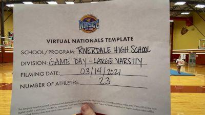 Riverdale High School [Virtual Large Varsity - Game Day Semi Finals] 2021 UCA National High School Cheerleading Championship