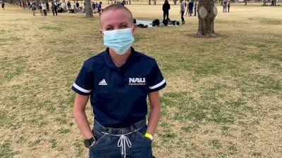 Taryn O'Neill Takes Individual Win For NAU
