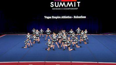 Vegas Empire Athletics - Relentless [2021 L4 Junior - Medium Semis] 2021 The D2 Summit