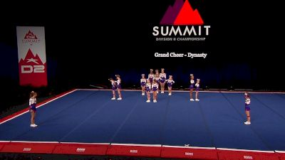 Grand Cheer - Dynasty [2021 L1 Junior - Small Finals] 2021 The D2 Summit
