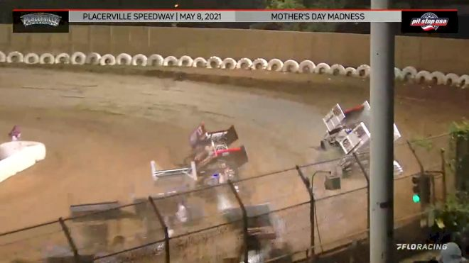 Highlights: Golobic Scores 360 Sprint Car Win At Placerville