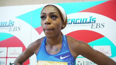 Raevyn Rogers Ready To Get Back To Work After 'Messy' 800m
