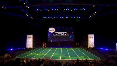 Ruckel Middle School [2020 Junior High Game Day Finals] 2020 UCA National High School Cheerleading Championship