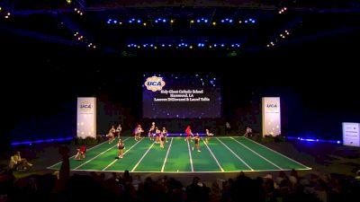 Holy Ghost Catholic School [2020 Junior High Non Tumbling Game Day Finals] 2020 UCA National High School Cheerleading Championship