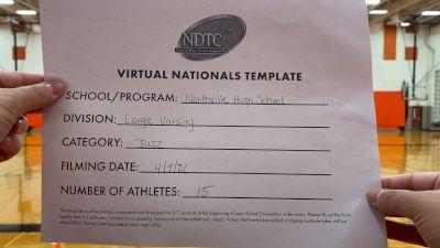 Northville High School [Virtual Large Varsity - Jazz Finals] 2021 UDA National Dance Team Championship