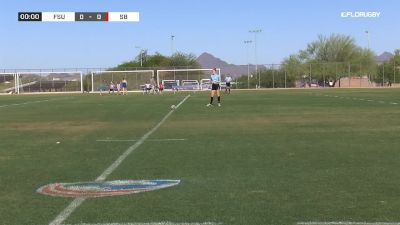 2019 College 7s Women D2 Pool A: Fresno State vs Stoney Brook