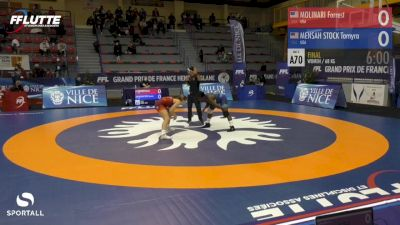 68 kg Final - Tamyra Mensah-Stock, USA vs Forrest Molinari, USA