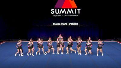 Maine Stars - Passion [2021 L3 Junior - Small Semis] 2021 The D2 Summit
