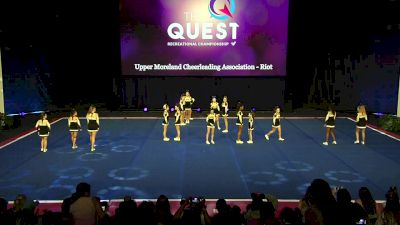 Upper Moreland Cheerleading Association - Riot [2020 L2 Performance Rec - Non-Affiliated (14Y - Small)] 2020 The Quest