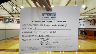 Stony Brook University [Division I Jazz Virtual Finals] 2021 UCA & UDA College Cheerleading & Dance Team National Championship