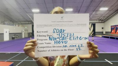 Nor Cal Elite All Stars - Sacramento - HERO [L1 Mini] 2021 The Regional Summit Virtual Championships