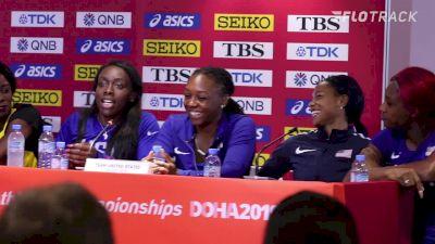 Morolake Akinosun Describes Her 4x1 Teammates
