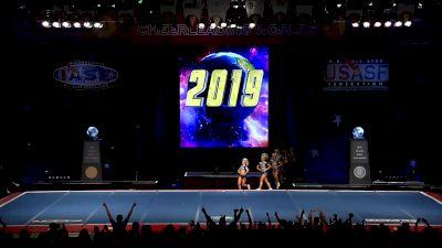 Prodigy All-Stars - Midnight [2019 L5 Senior Small Coed Semis] 2019 The Cheerleading Worlds