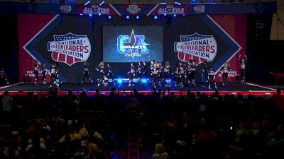The California All Stars - Las Vegas - Royalty [2020 L4.2 Medium Senior Coed Day 2] 2020 NCA All-Star Nationals