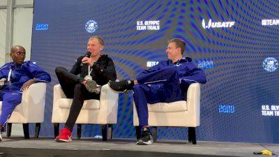 Jake Riley, Galen Rupp Discuss Their Lengthy Injuries