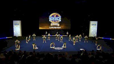 La Salle High School [2020 Super Varsity Non Tumbling Semis] 2020 UCA National High School Cheerleading Championship