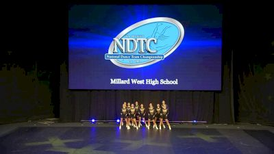 Millard West High School [2020 Small Hip Hop Semis] 2020 UDA National Dance Team Championship