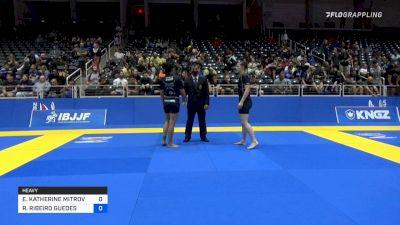 ELIZABETH KATHERINE MITROVIC vs RAFAELA RIBEIRO GUEDES 2021 World IBJJF Jiu-Jitsu No-Gi Championship