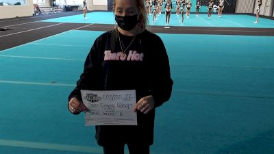 Cheer Extreme - Raleigh - SSX [L6 Senior - Small] 2021 NCA All-Star Virtual National Championship