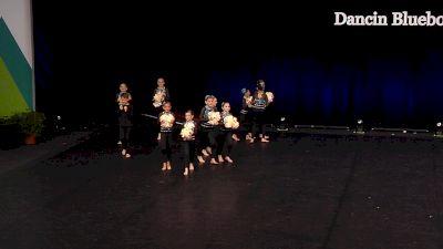 Dancin Bluebonnets - Minis [2021 Mini Coed Pom Semis] 2021 The Dance Summit