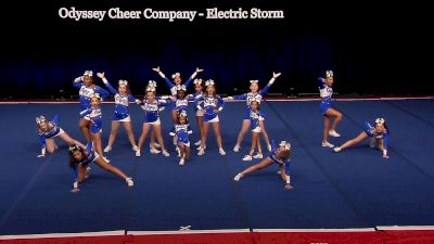 Odyssey Cheer Company - Electric Storm [2021 L2 Junior - Small Wild Card] 2021 The D2 Summit